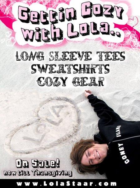 cozy with lola sale promo